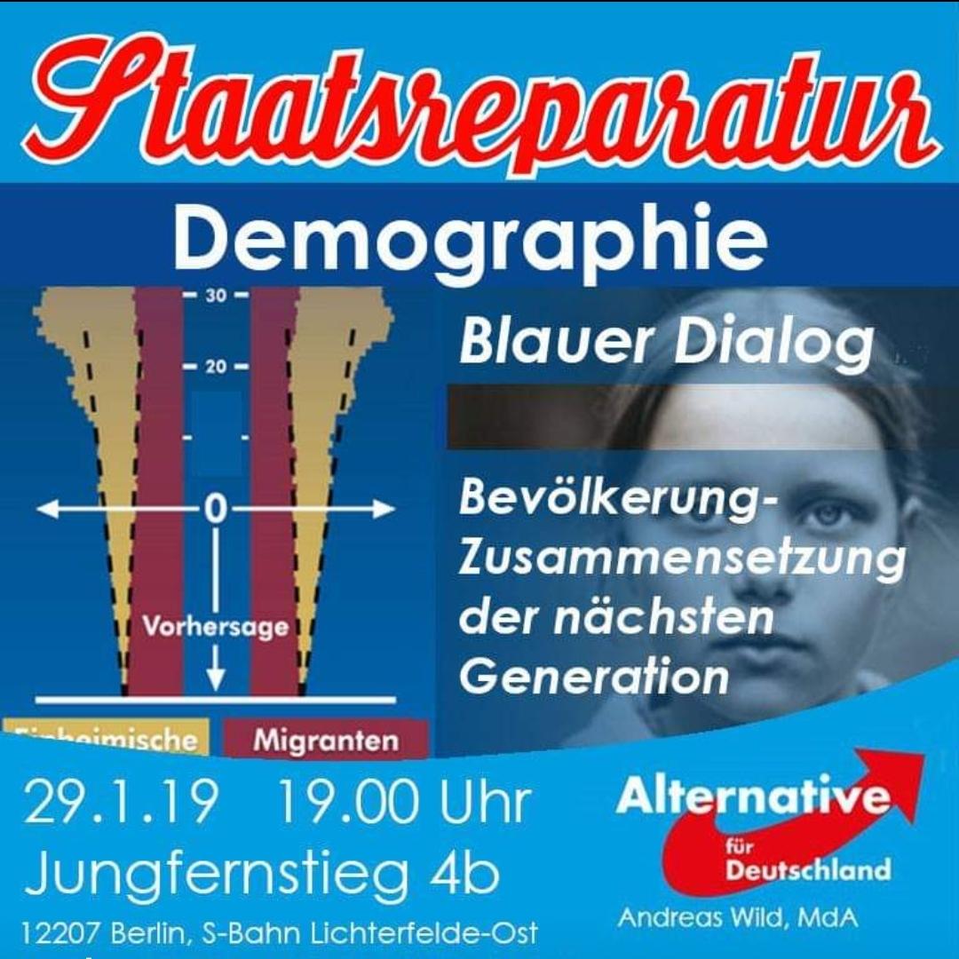 Blauer Dialog: Demographie