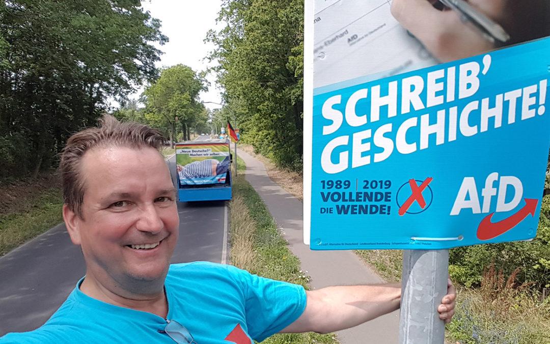 Wahlkampfhilfe in Kleinmachnow