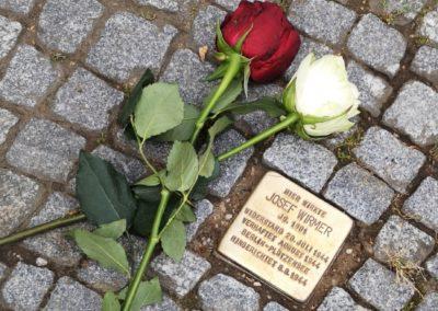 Gedenkstein für Josef Wirmer