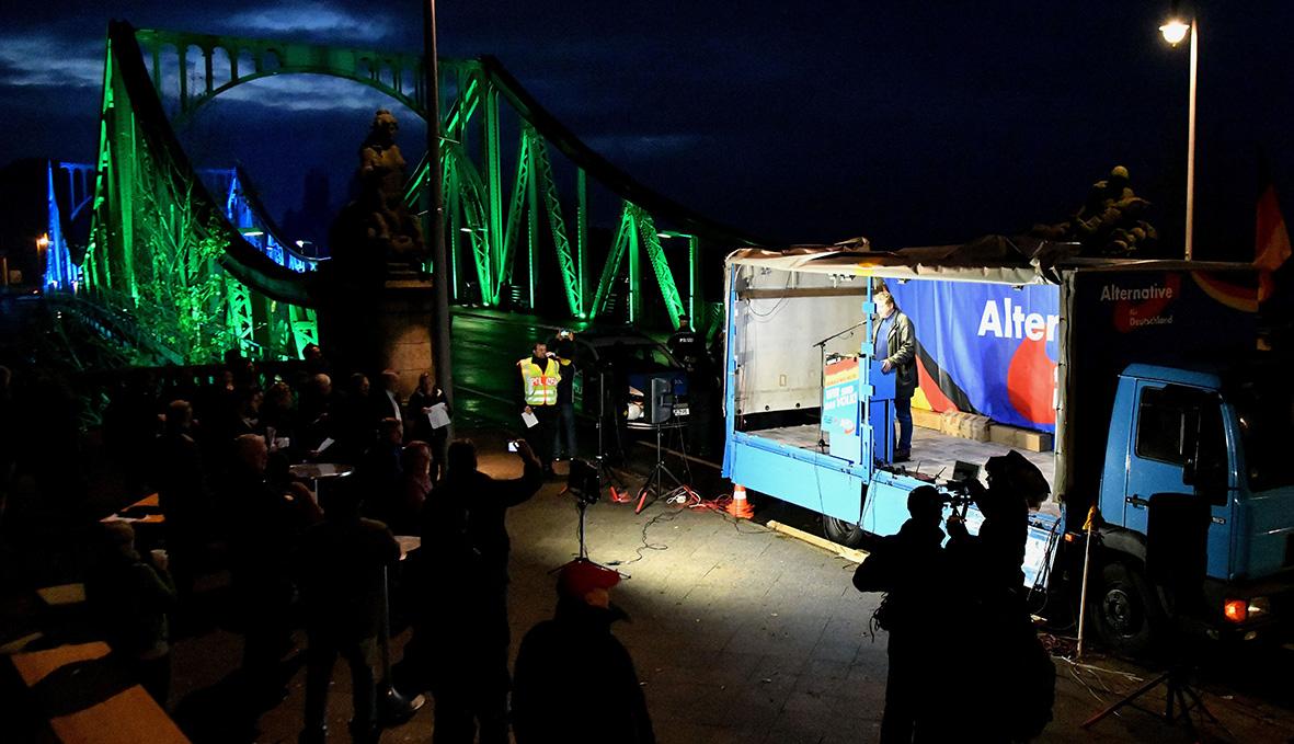 Gedenkveranstaltung Glienicker Brücke