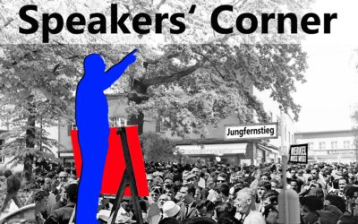 Speakers' Corner Jungfernstieg