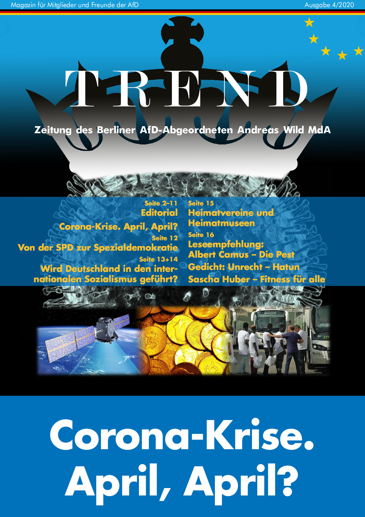 Trend-Magazin April 2020 – Corona-Krise. April, April?