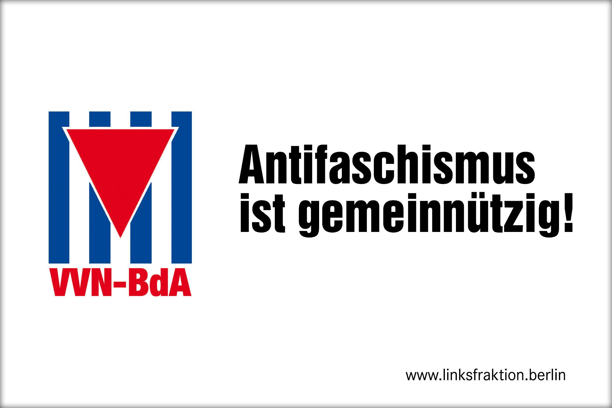 Anfrage zur Finanzierung der linken VVN-BdA-Vereine