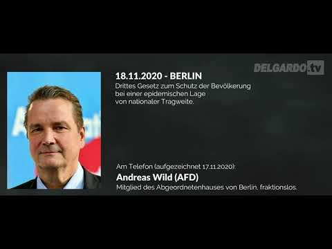 Interview mit DELGARDO.tv: Andreas Wild gegen das Ermächtigungsgesetz