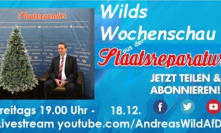 Wilds Wochenschau 3: Individualismus versus Gruppeninteressen