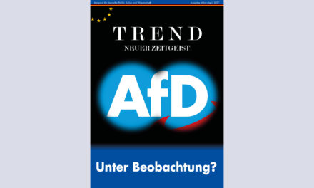 TREND-Magazin März+April 2021: AfD – Unter Beobachtung?