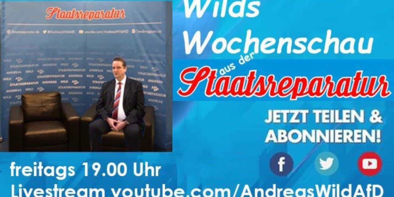 Wilds Wochenschau 7: Nachruf Klaus-Dieter Meckes, Aktionsgruppe Straßenwahlkampf, Neues aus dem AGH