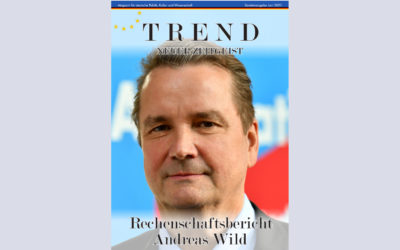 TREND-Magazin Juni 2021: Rechenschaftsbericht Andreas Wild